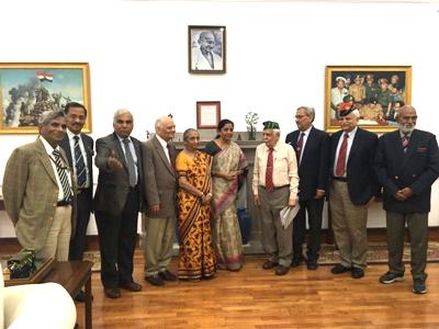 12 Dec 2017, Meeting with Raksha Mantri
